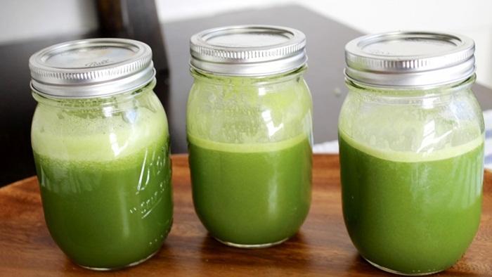 Resep jus sayur sehat untuk food combining