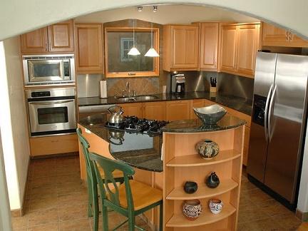 Lindas fotos de cocinas pequeñas con isla - Colores en Casa