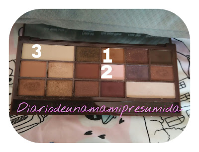 Paleta de sombras I Heart Chocolate de I Heart Makeup