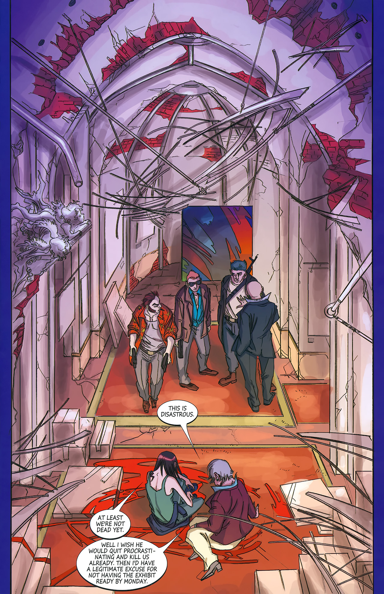 Read online Hexed comic -  Issue #4 - 3