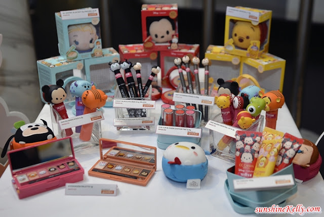 Disney Tsum Tsum, Cathy Doll, Make-Up, Guardian, Beauty, Mickey and Minnie Mouse, Goofy, Donald Duck, Pooh, Piglet, Tigger and Eeyore, Winnie the Pooh, Elsa, Anna and Olaf, Froze