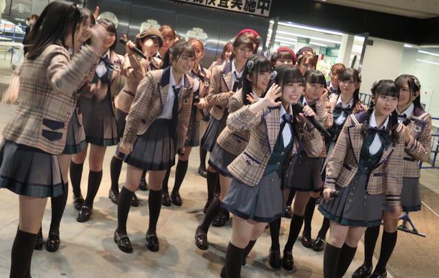 HKT48 Hayaokuri Calendar MV.png