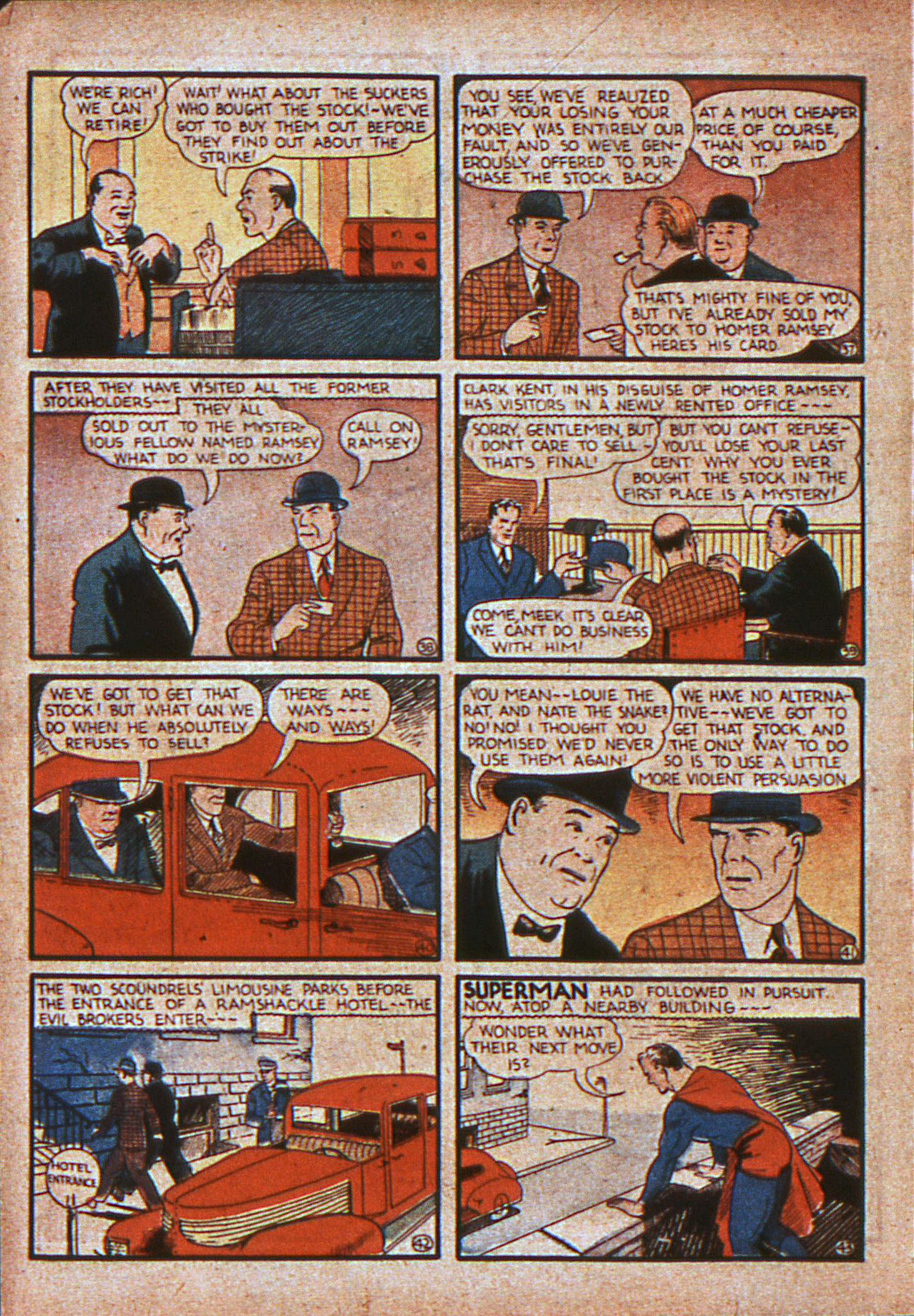 Action Comics (1938) 11 Page 8