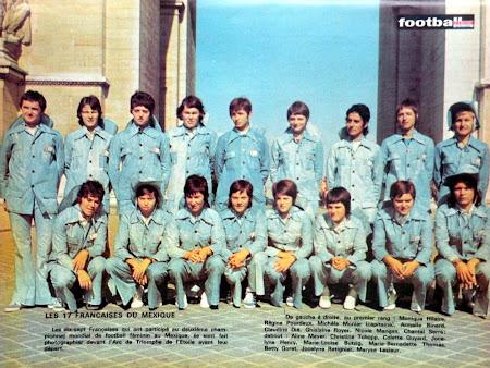 The vintage football club l 39 quipe de france de football - Coupe du monde de football feminin ...