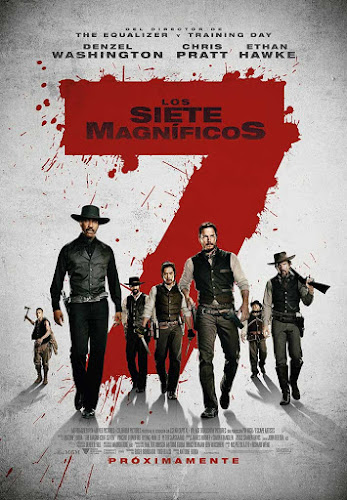 The Magnificent Seven (BRRip 720p Dual Latino / Ingles Subtitulada) (2016)