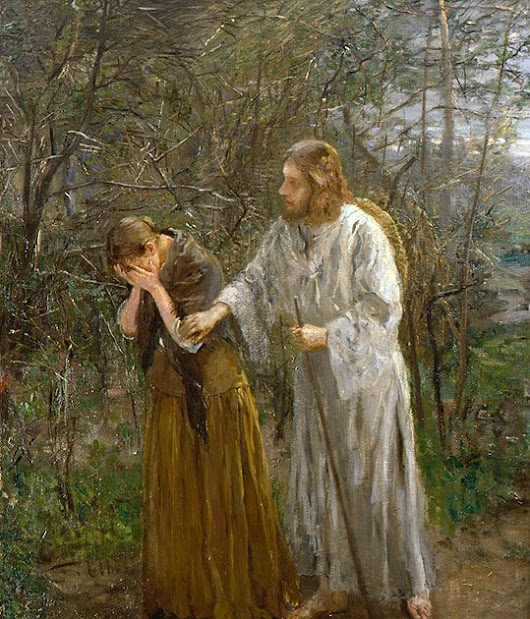 Easter Devo: Meet Me in the Garden of My Grief...