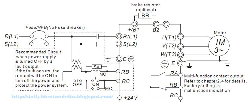 Tài liệu lắp đặt đấu nối biến tần, lắp đặt điện trở xả cho biến tần. Cung cấp biến tần tích hợp bộ hãm, bán PLC, AC Servo, màn hình HMI