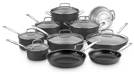 Cuisinart 66-17 Chef's Classic Nonstick Hard-Anodized 17-Piece Cookware Set Review