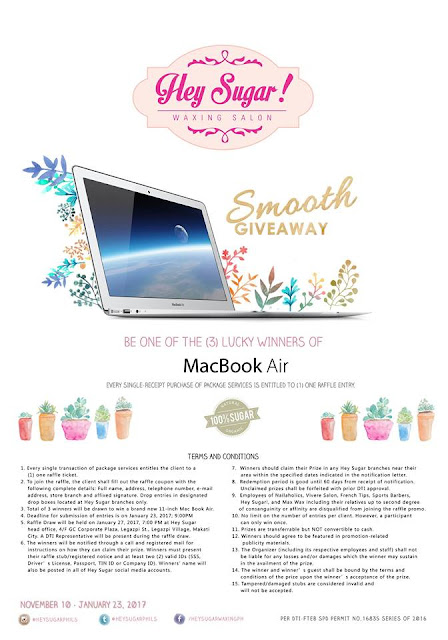 hey sugar, apple macbook air, promo,