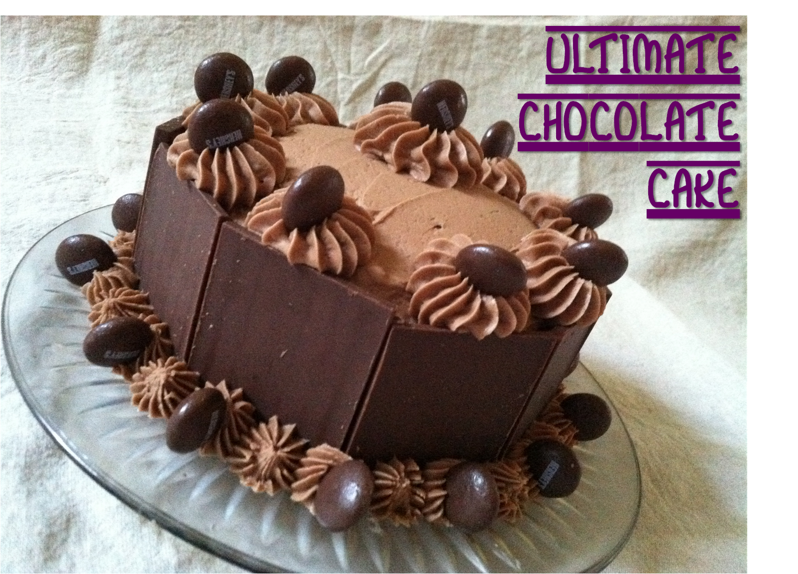 Julie Vision in the Kitchen: Ultimate Chocolate Cake + Decorating ...