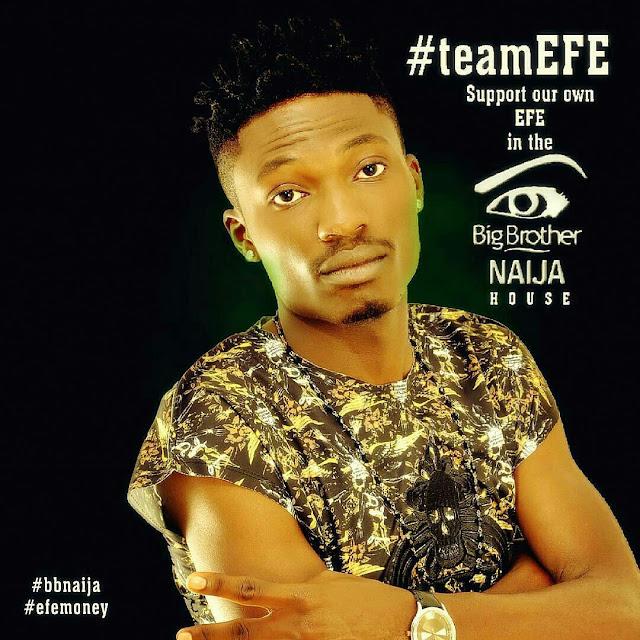 EFE is representing Jos Plateau in Big BrotherNigeria 2017 #bbnaija