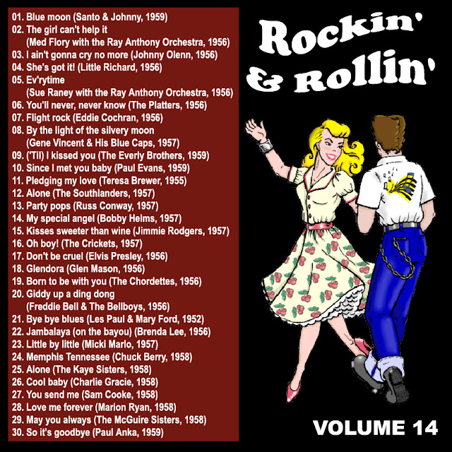 Cd collection Back To The 50's - Rockin' & Rollin' 14 Back