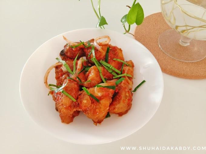 Resepi Ayam Masak Thai