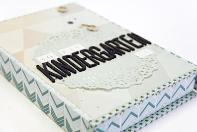 Minibook für Scrapwerk 2/2015