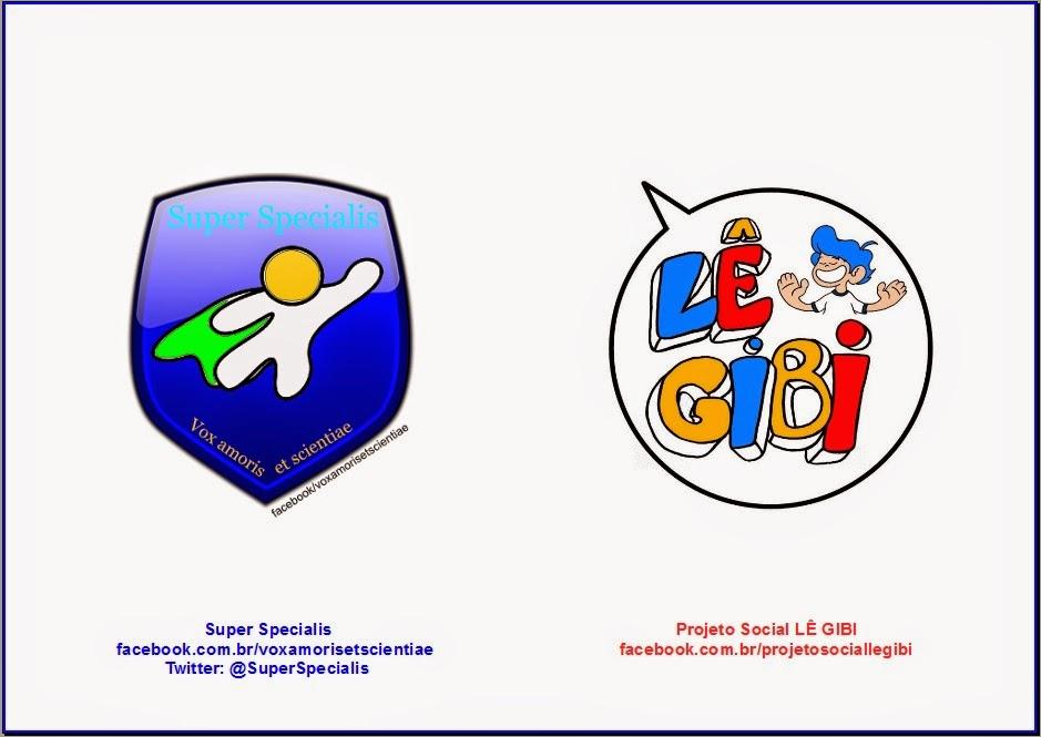 Parceria do projeto Super Specialis com o Projeto Social Lê Gibi.