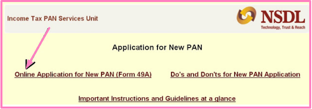 How To Apply For Online PAN Card