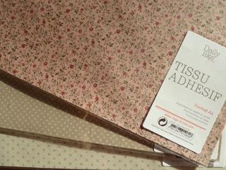 papier thermocollant pour tissu