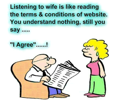 Cartoon on marriage Theory