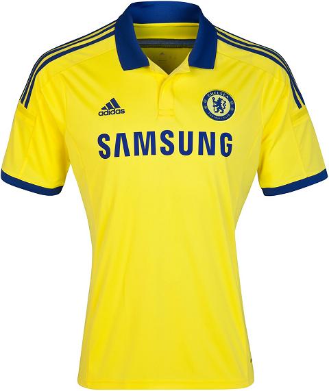 3b30af5b58 Chelsea apresenta uniformes para temporada 2014 15 - Show de Camisas