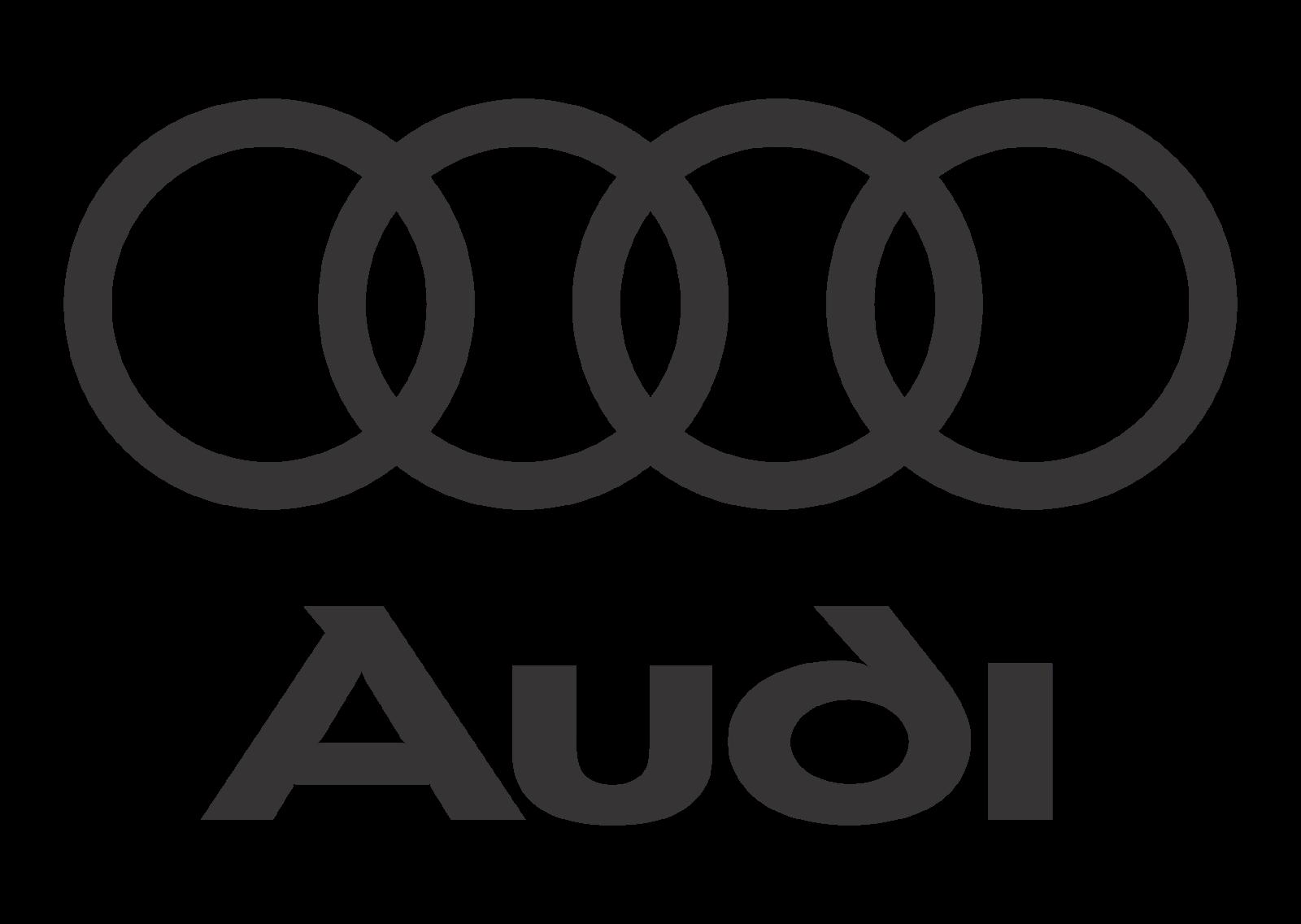 Audi Logo Vector (Black White)~ Format Cdr, Ai, Eps, Svg