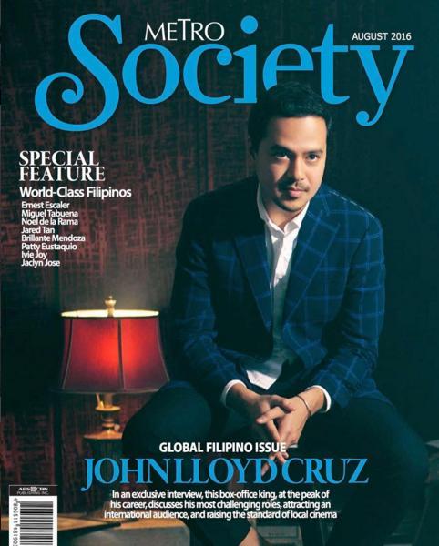 John Lloyd Cruz - Metro Society Aug 2016