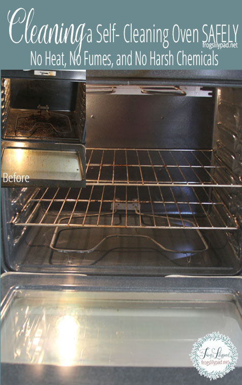 Cleaning a Self-Cleaning Oven Safely