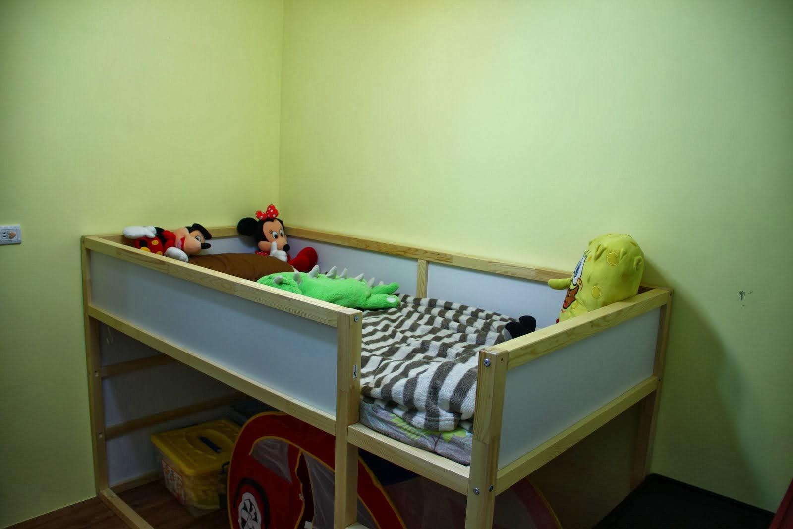 謝寶幸福窩: 謝寶的IKEA翻轉床+粉紅城堡(兒童床帳篷)還有扶手跳床資訊