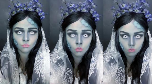 Tutorial de Halloween - Maquiagem Noiva Cadáver
