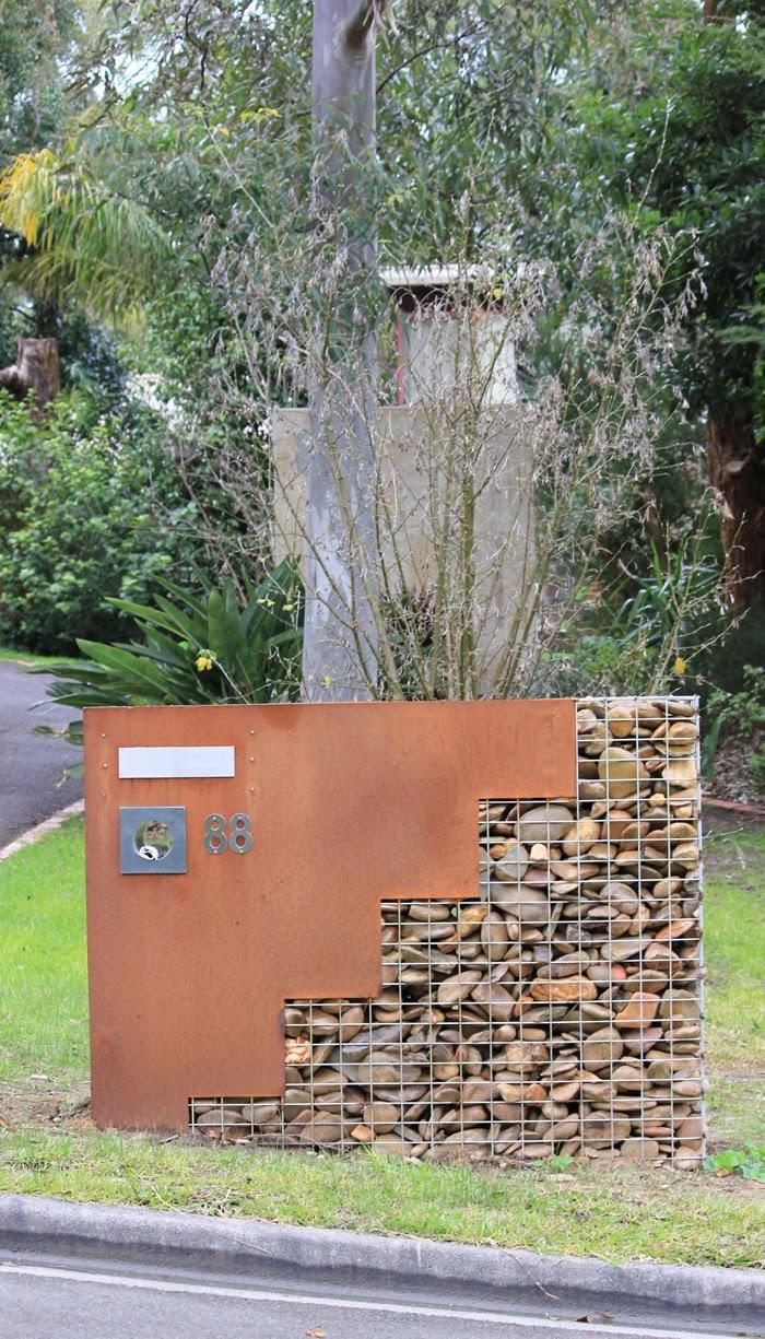 Fabulous Front Entrances Letterboxes With Panache