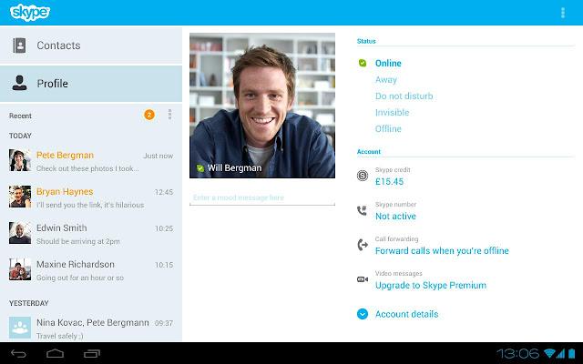 تحميل برنامج سكاي بي عربى Download Skype 2020 للكمبيوتر والاندرويد والايفون