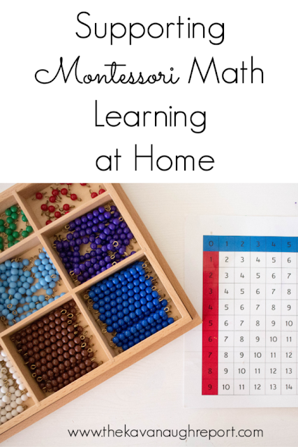 Concrete ideas for supporting math learning at home for toddlers, preschool and elementary