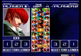 The King of Fighters 2003+arcade+game+portable+retro+fighter+select players