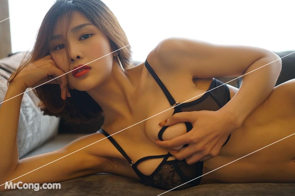Image Yan-Pan-Pan-Part-3-MrCong.com-009 in post Ngắm vòng một siêu gợi cảm với nội y của người đẹp Yan Pan Pan (闫盼盼) (51 ảnh)