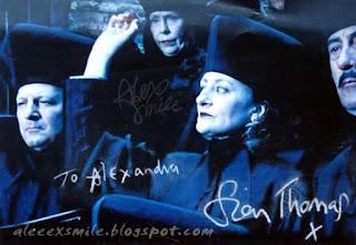 Sian Thomas Amelia Bones Autograf  Autograph Harry Potter