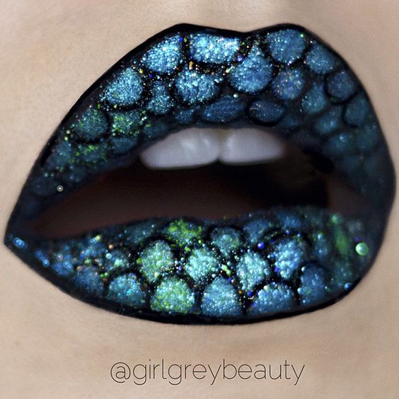 Inspirações de maquiagens para o Carnaval by Pinterest