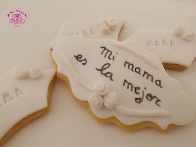 Galletas de mantequilla para el día de la madre