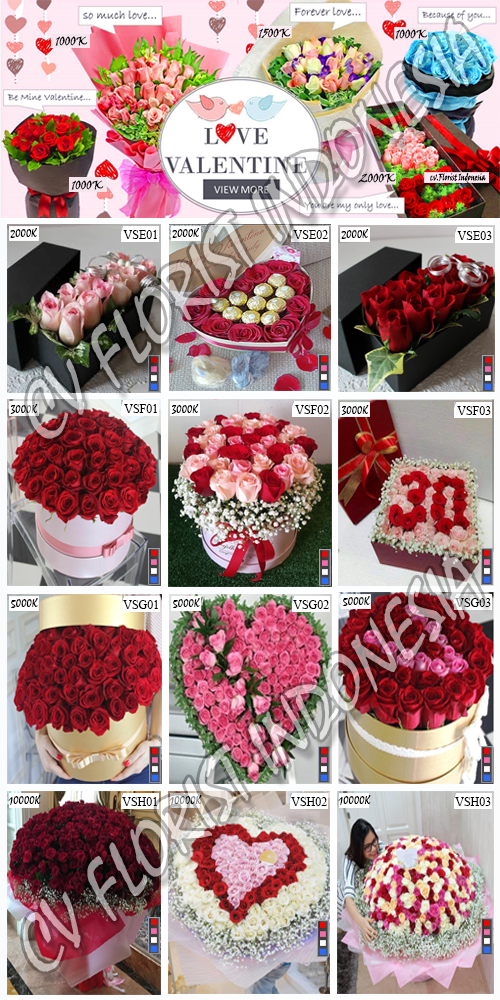 Jual Bunga Mawar Valentine Di Jakarta Barat