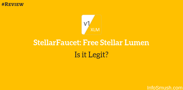 StellarFaucet: Free Stellar Lumen App Review