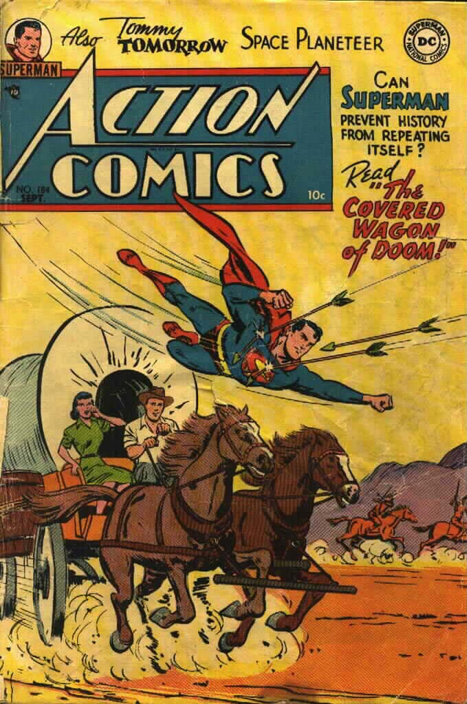 Read online Action Comics (1938) comic -  Issue #184 - 1
