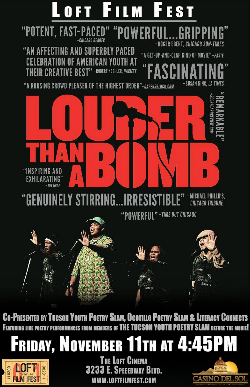 Louder Than Bombs Film