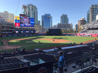My April 20 visit to Petco Park in San Diego