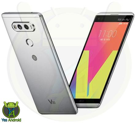 LG H990 V20 TD-LTE / H990TR Full Specs Datasheet