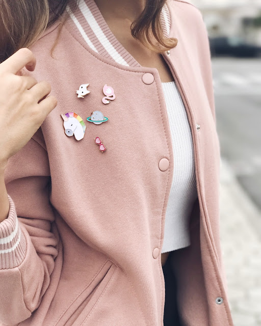 Outfit of the day - pins