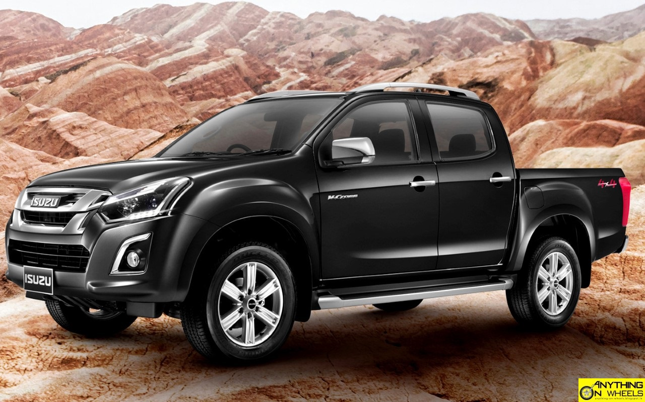 anything on wheels isuzu d max facelift spotted testing in chennai. Black Bedroom Furniture Sets. Home Design Ideas