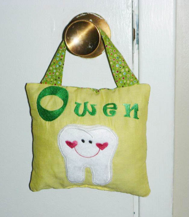 Do It Myself Crafts Tooth Fairy Pillow