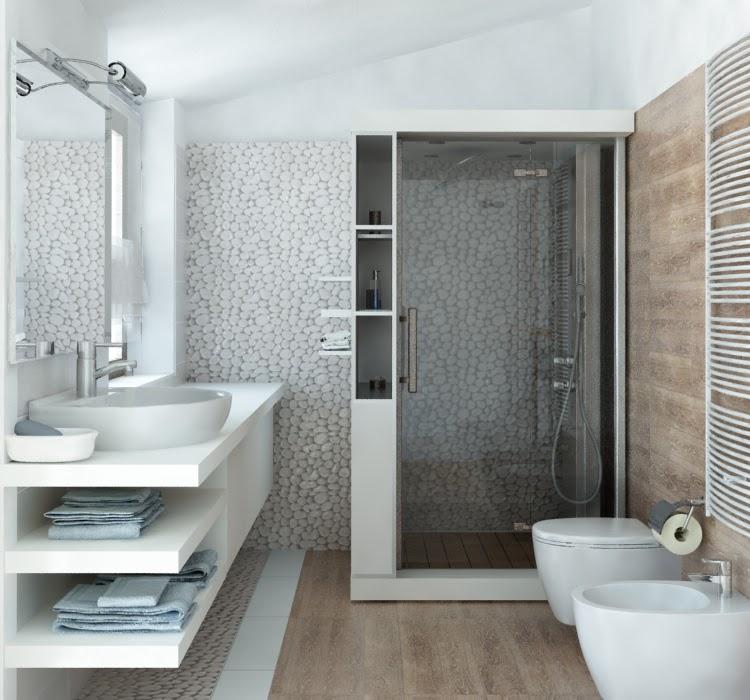 Arredamento e dintorni piastrelle bagno - Piastrelle bagno lucide o opache ...