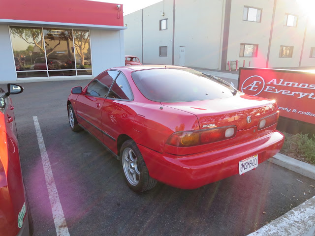 New paint on 1995 Acura Integra