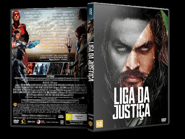 Capa DVD Liga Da Justiça