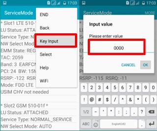 cara 4G Only samsung tanpa aplikasi