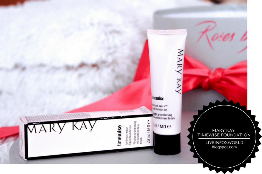 Mary Kay timewise foundation luminous wear